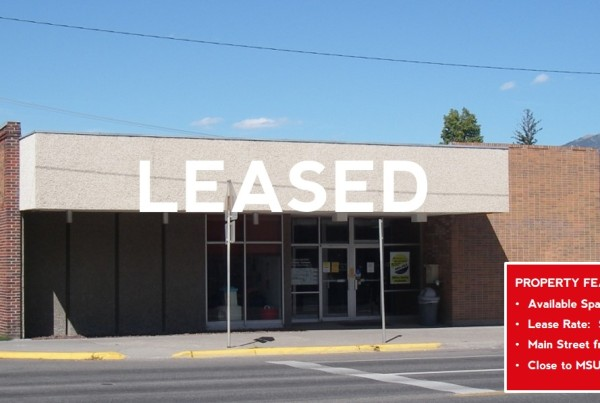 Leased - Main Street Office