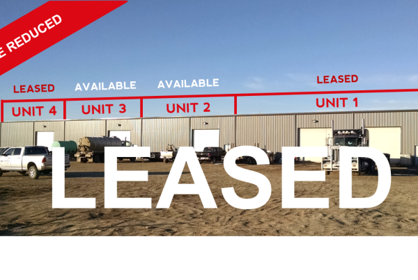 unit 1 and 4 leased