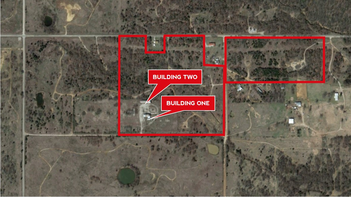 55.93 AC of Land with Two Buildings | Healdton, OK